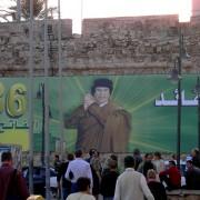 Lybien Tripolis Gaddafi